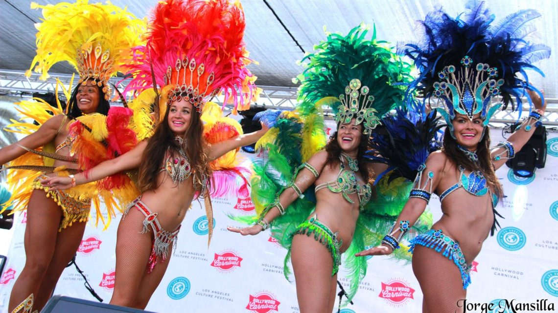 Hollywood Carnival 2016 – Samba Dancers
